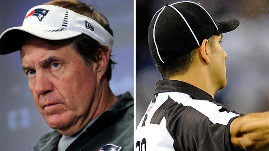 Patriots' coach ready to punch official?