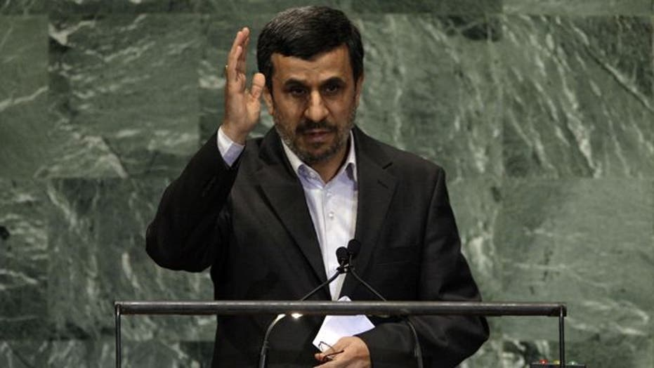 Ahmadinejad says Israel has 'no roots' in Middle East