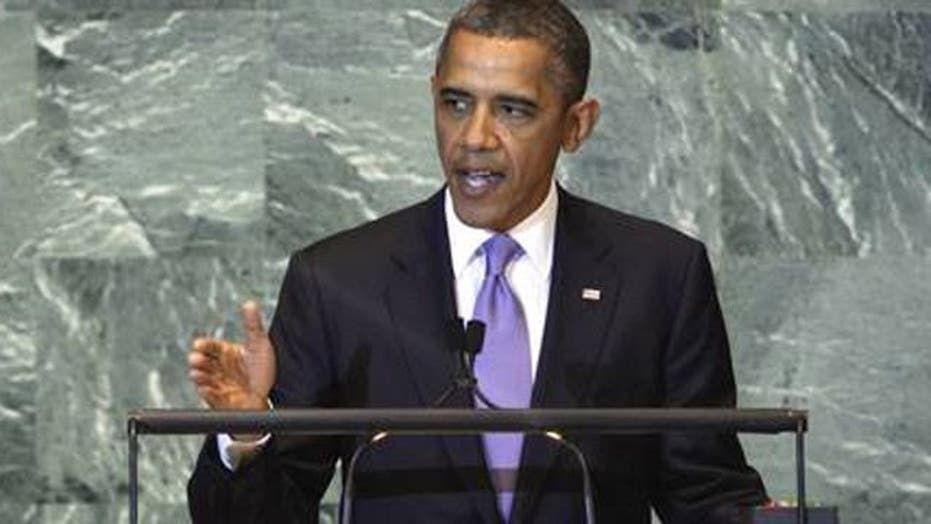 Obama showing weakness on the world stage?
