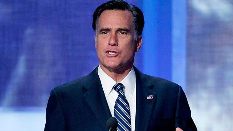 Is Romney getting tougher on Obama?