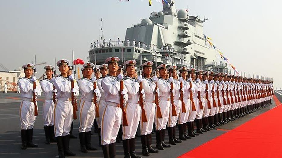 China amps up naval power in the Pacific