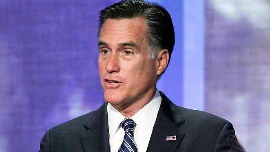 Romney addresses foreign policy at Clinton Global Initiative