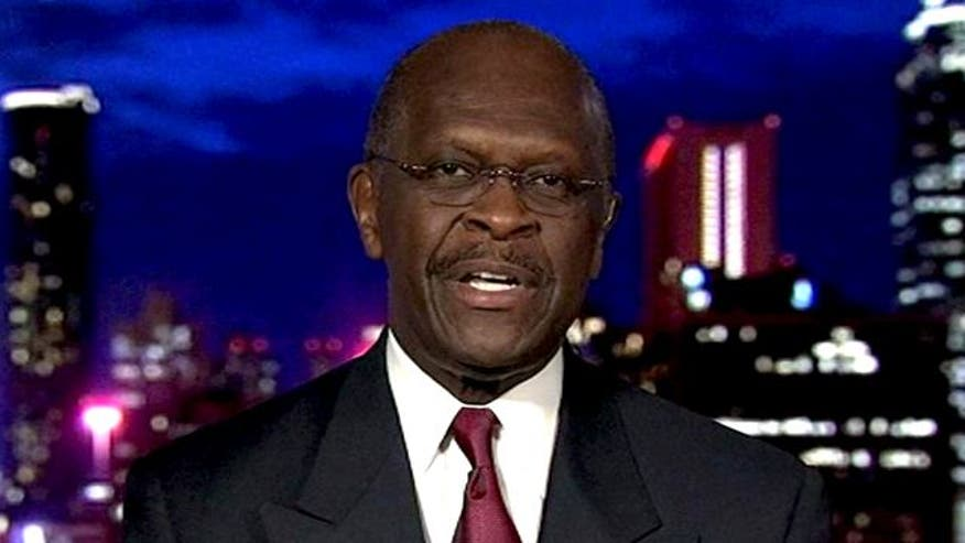 Herman Cain sounds off on his stunning Florida straw poll victory, president's denial of class warfare in his deficit plan