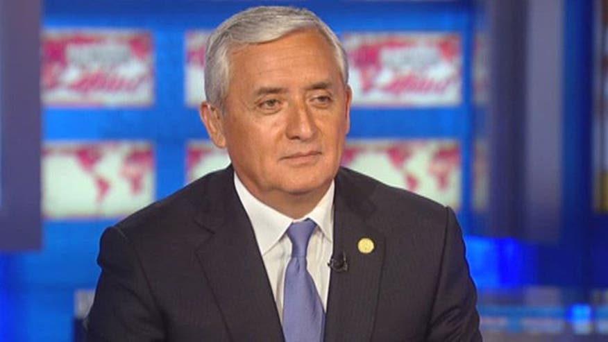 "The newly elected President of Guatemala Otto Perez Molina, defends the legalization of drugs as part of his new ""iron fist"" approach toward fighting drug violence, grades the US drug war effort, and denies accusations of human rights violations against him."