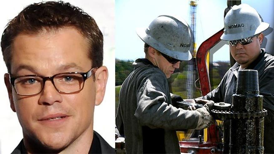 Controversy over Matt Damon's new film 'Promised Land'