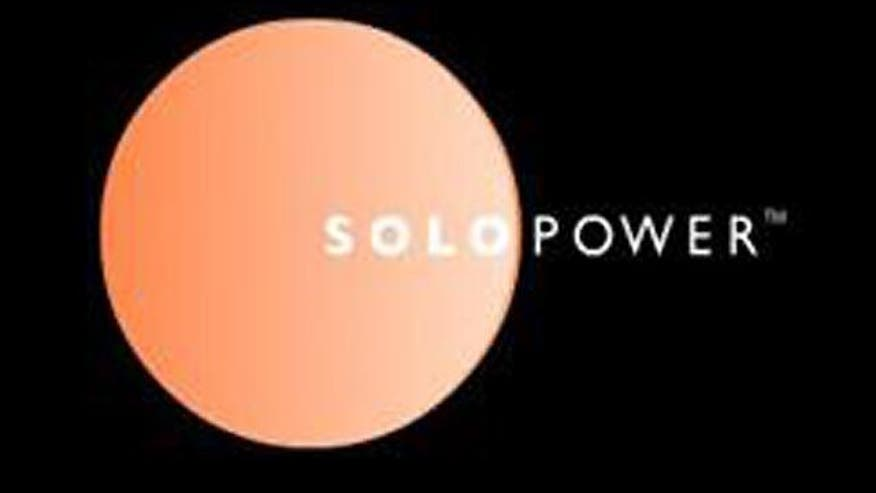 SoloPower given large government loan guarantee