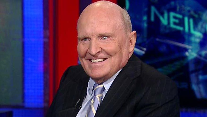 Jack Welch on 2012 candidates, Donald Trump, China