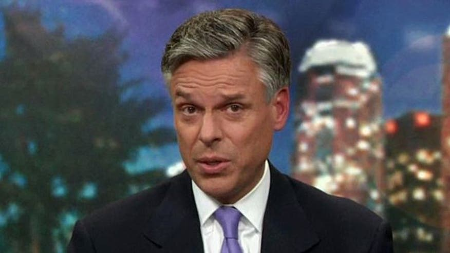 GOP presidential hopeful Jon Huntsman on the state of the White House race, his plan for America and more
