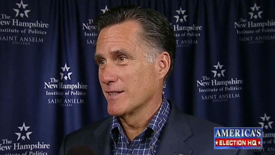 Romney Rebounds in Republican Race