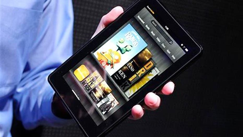 Amazon Launches Kindle Fire Tablet