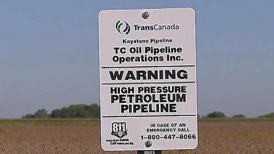 Debate over proposed pipeline that would run from Canada to the Gulf Coast