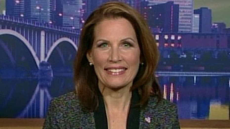 Bachmann: Don't Count Me Out of Race, Part 1