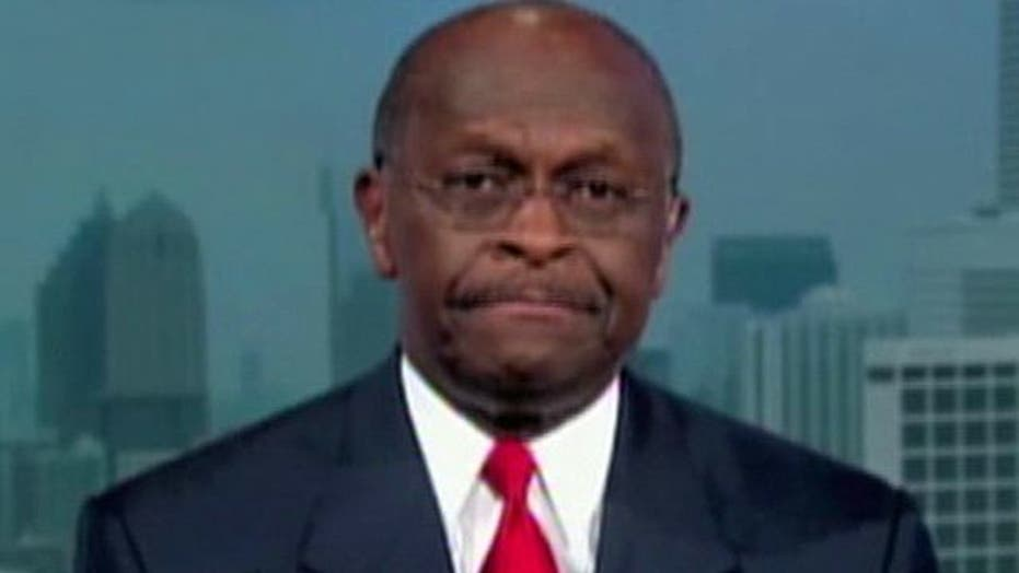 Cain's Comment 'Brainwash' Remark Sparks Debate