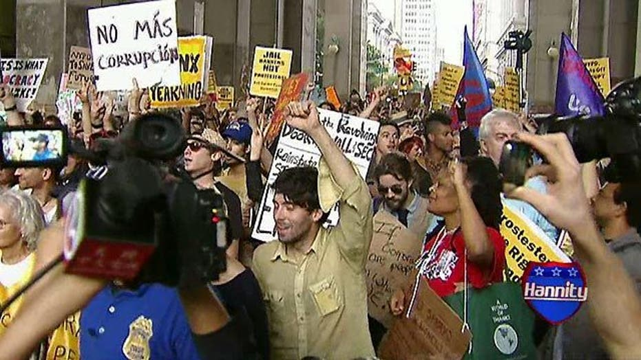 Anti-Wall Street Protest Spreading Across U.S.?