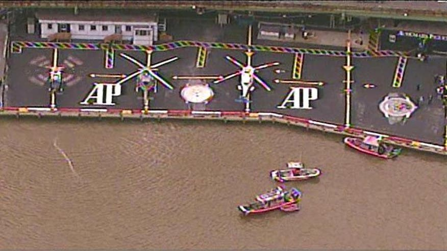 Crews still searching for fifth person in East River
