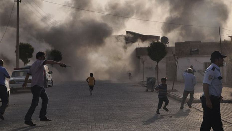 Syrian civil war spills over its borders