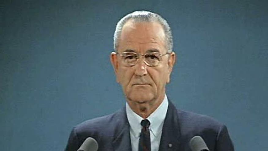 An assassin's bullet forever changed LBJ's political fortune