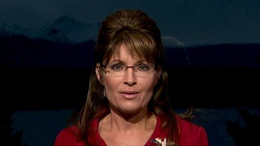 Former Alaska governor explains her decision not to run for president in 2012