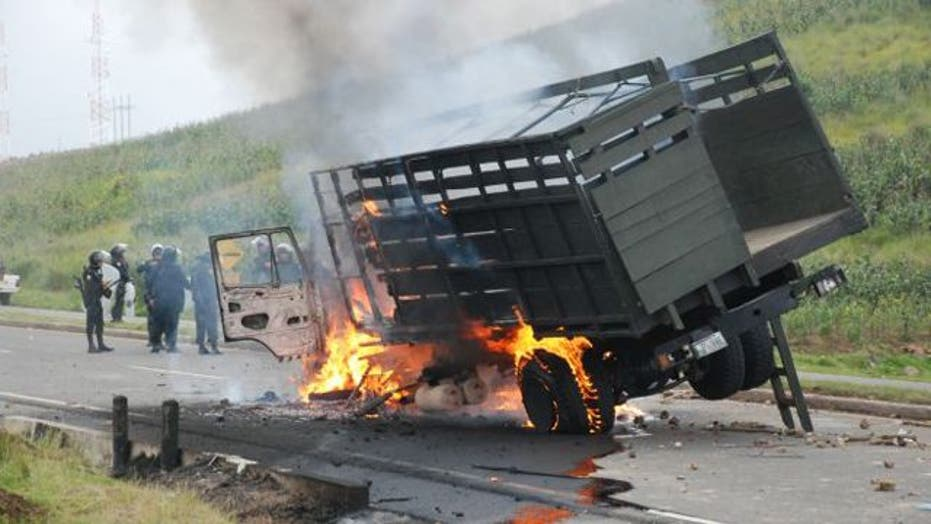 Around the World: Protests take violent turn in Guatemala