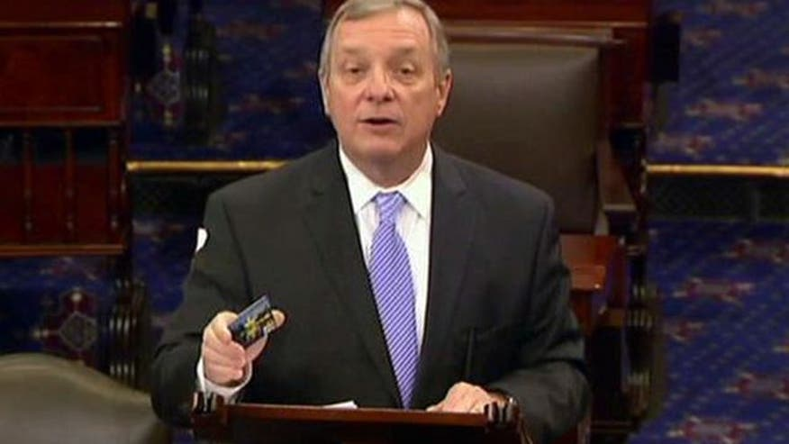 Sen. Dick Durbin tells customers to bail on America's biggest bank