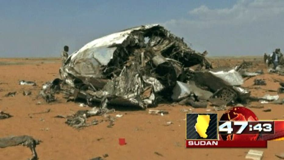 Around the World: Military transport plane crashes in Sudan
