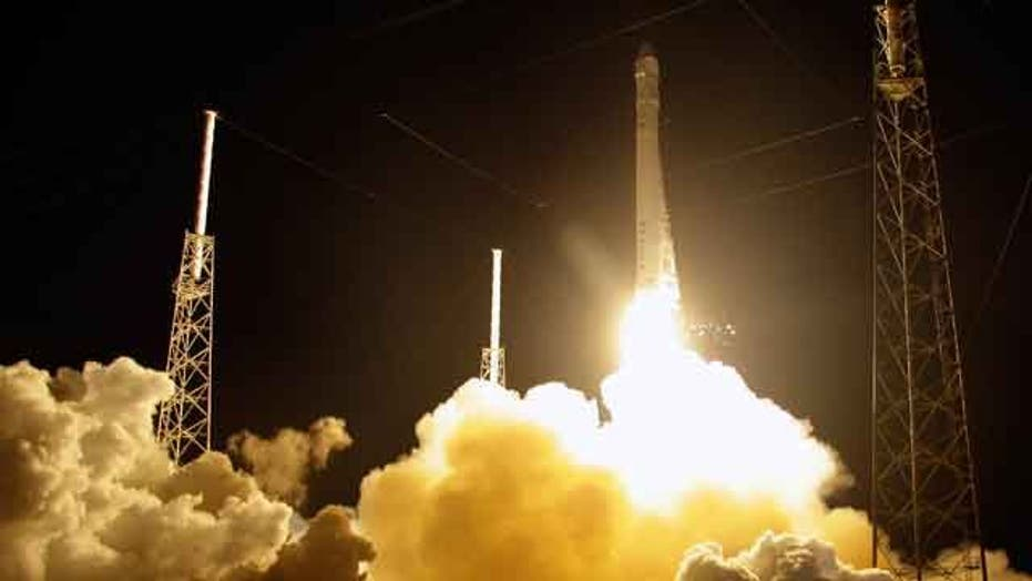 SpaceX Dragon blasts off to International Space Station