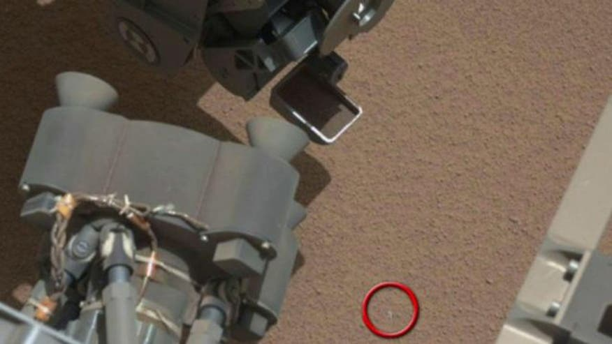 Officials suspect item might be part of the rover