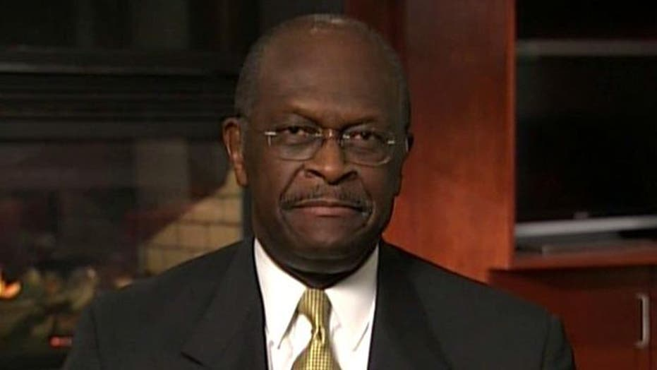 Herman Cain Takes on 'Occupy Wall Street' Part 1
