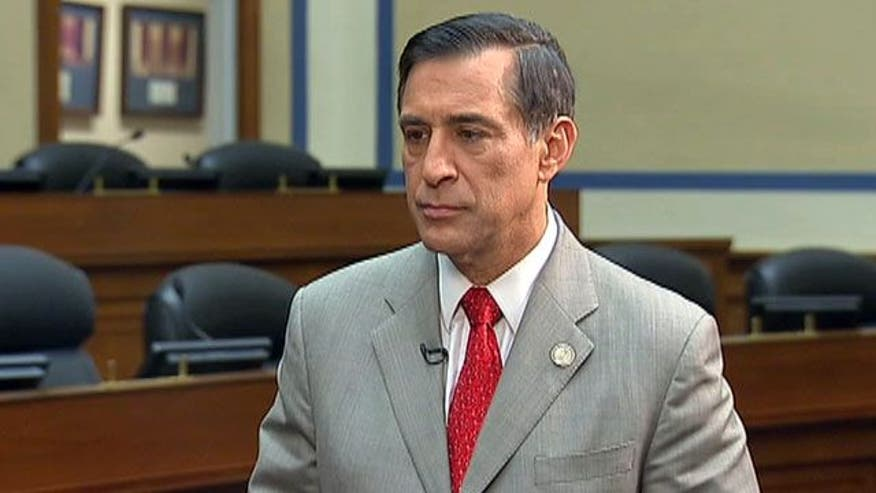 Uncut: House Oversight Committee Chairman Darrell Issa reflects on the sometimes frustrating hearing on the terror attacks on the US consulate in Libya
