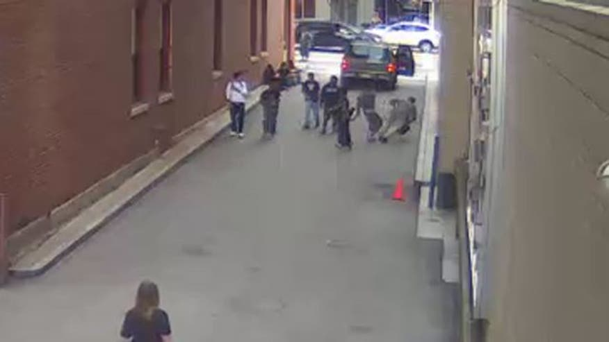 Raw video: 15-year-old arrested following attack in Pittsburgh