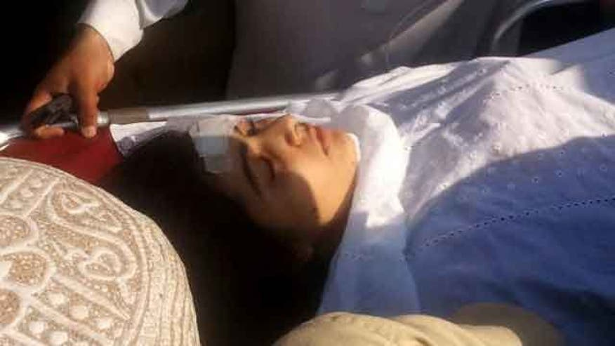 Teen activist targeted in Pakistan