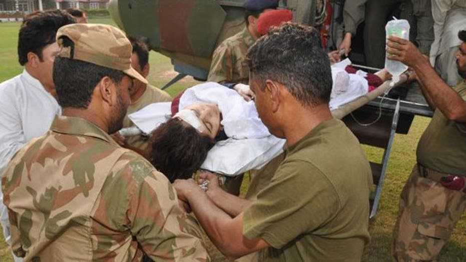 14-year-old Pakistani girl shot in the head by Taliban