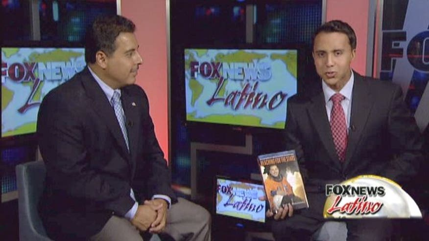 Former NASA Astronaut Jose Hernandez, and current congressional candidate, has written an inspiring book for young Latinos.