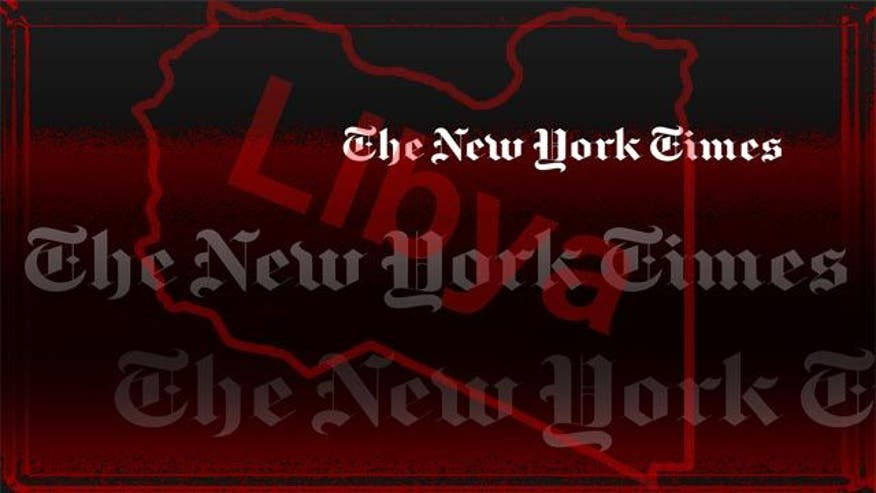 NYT buries its coverage of Libya hearing