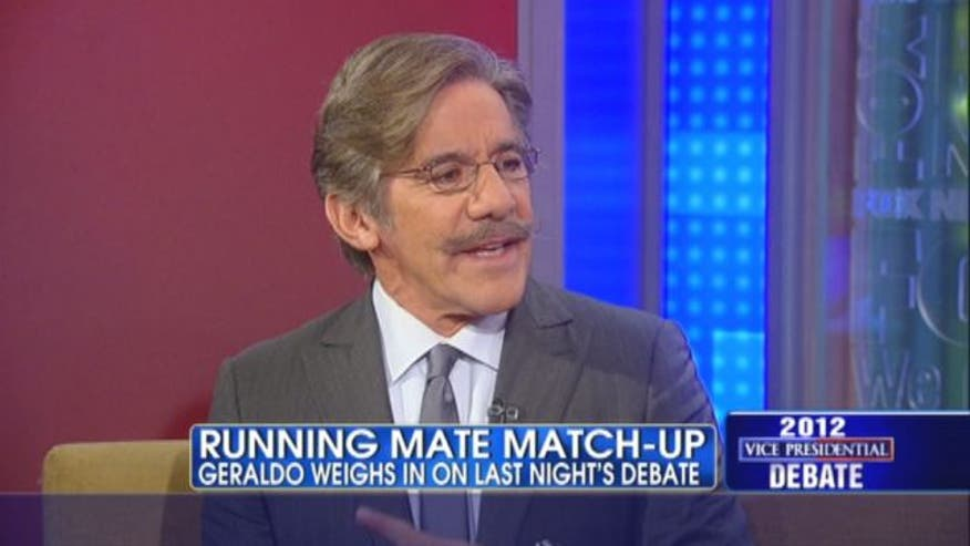 Geraldo Rivera weighs in on last night's vice presidential debate.