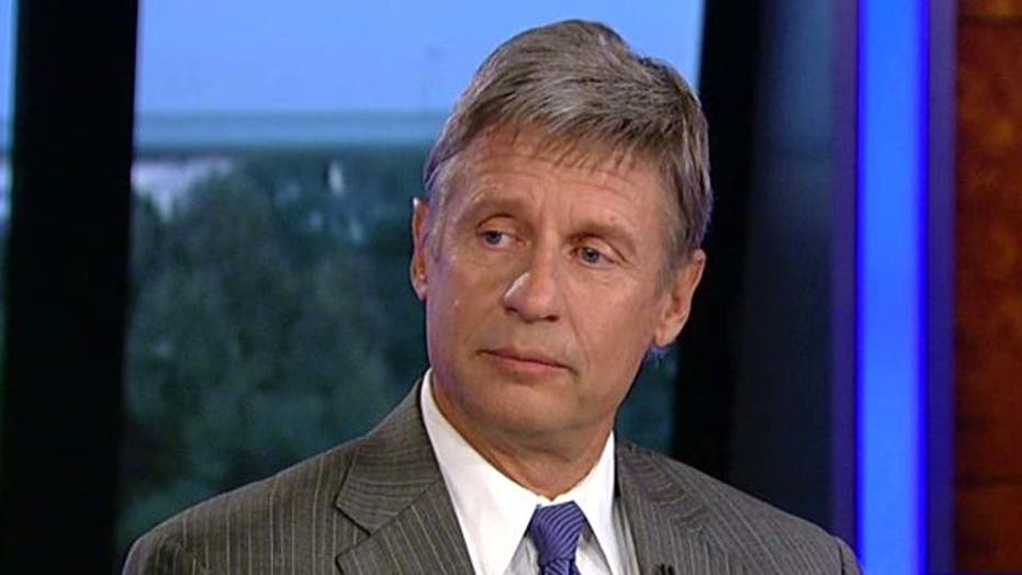 Gary Johnson Reveals His Primary 'Game Plan'