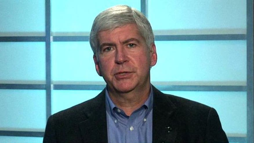 Michigan governor on 2012 race, ballot proposals