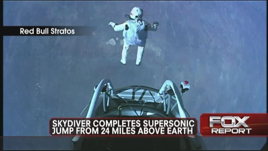 Fearless Felix Lands Record Breaking Leap to Earth