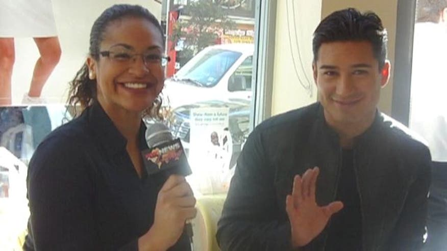 "Mario Lopez talks to Fox News Latino about the process of becoming the new judge on ""The X Factor"" and his health initiatives."