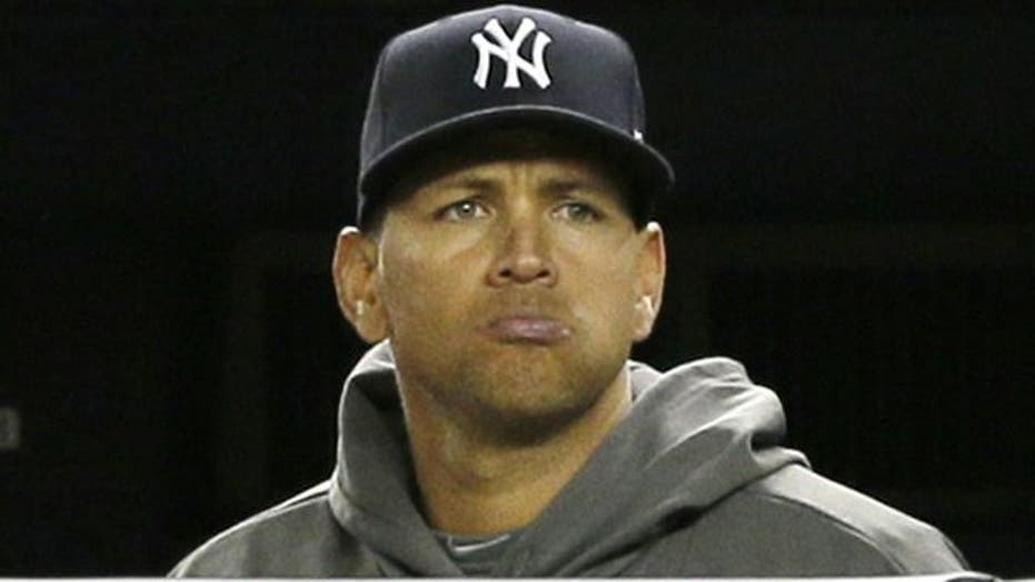 A-Rod tries to pick up women during playoff game?