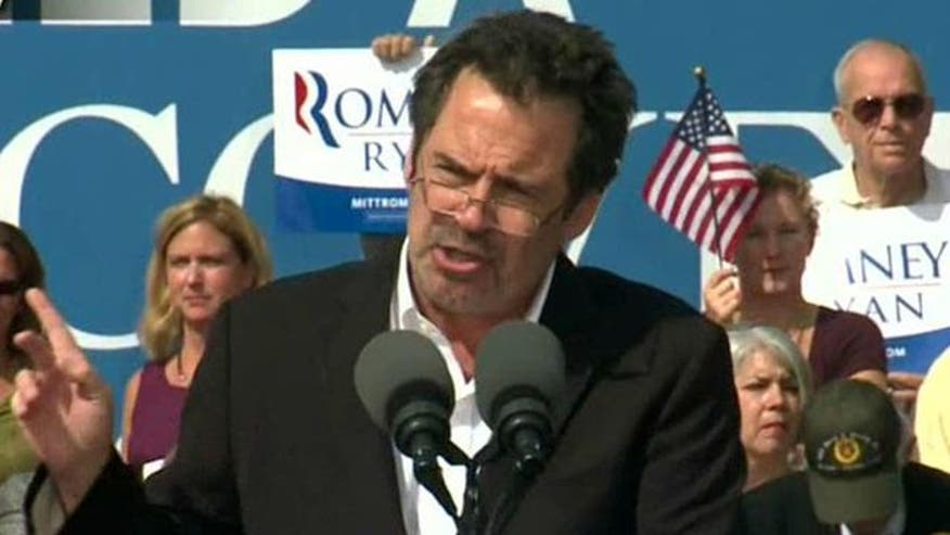 Comedian talks about hitting the campaign trail with the Republican nominee