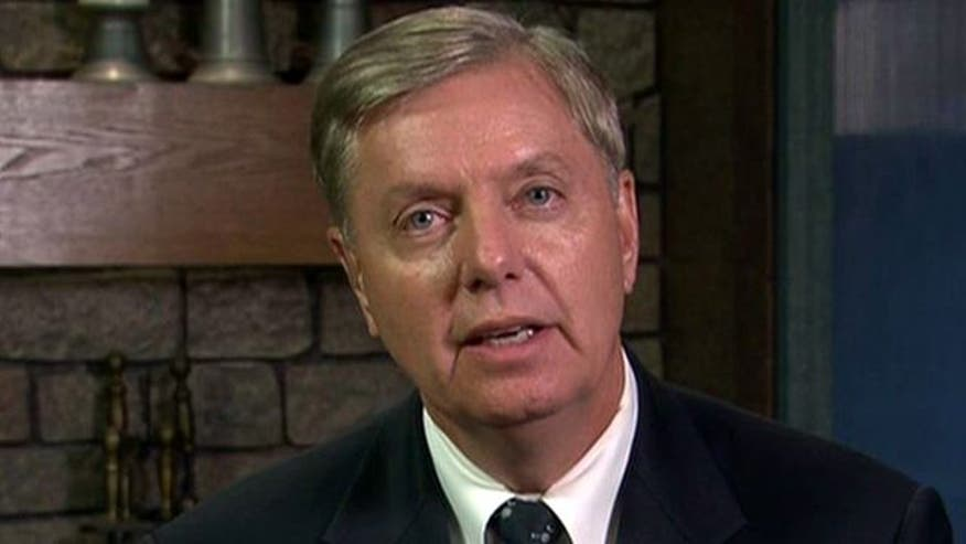Sen. Graham blasts White House's changing stories - and president's 'terror' word games - in Benghazi attack