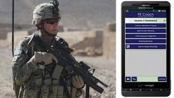 With an alarming number of soldiers and veterans committing suicide, the Pentagon is hoping that smart-phone technology can help reverse that trend.