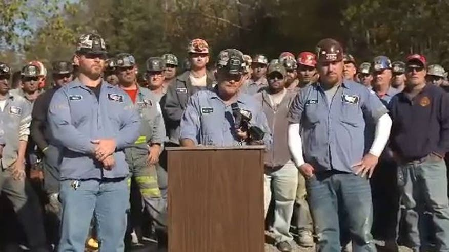 Group disputes claims they were props in Romney rally; claim president is waging war on coal