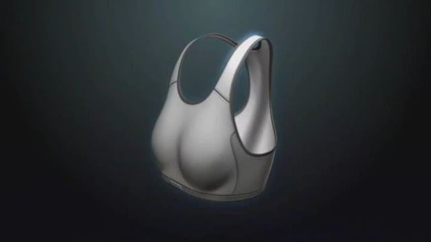 "A ""smart bra"" that can detect early signs of breast cancer."