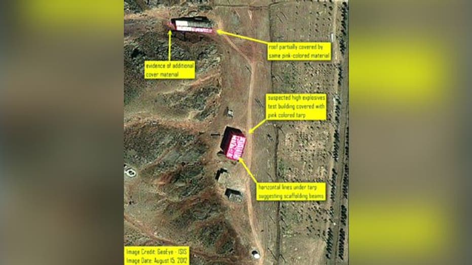 Satellite photos show new activity at Iranian nuclear site