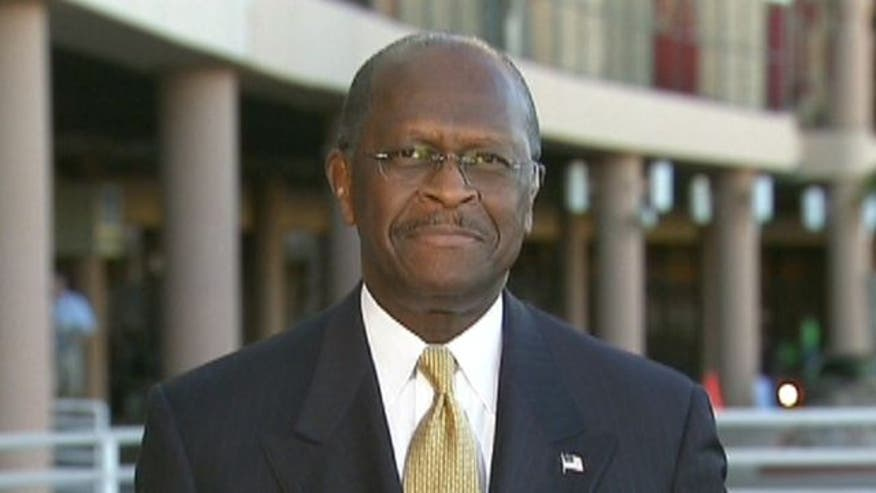 Herman Cain discusses new scrutiny over his '9-9-9' tax plan, his new status as a leading candidate and more