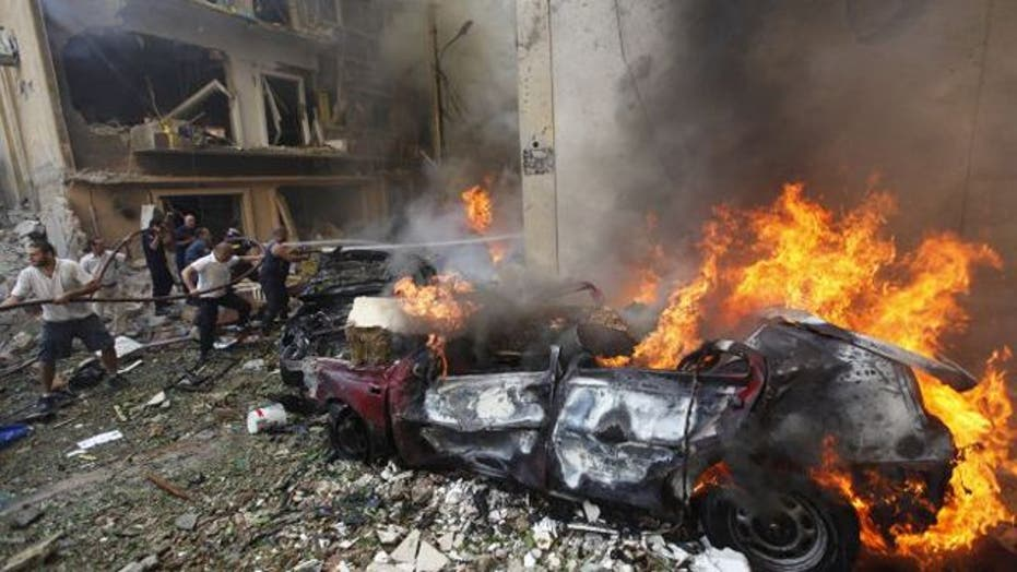 Bomb kills 8, wounds dozens in Beirut