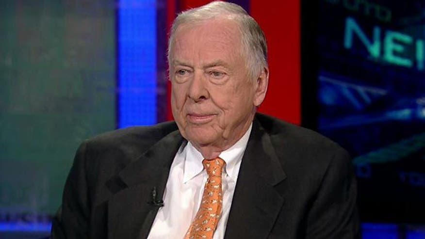 Exclusive: Chairman of BP Capital Boone Pickens on oil prices, economic crisis