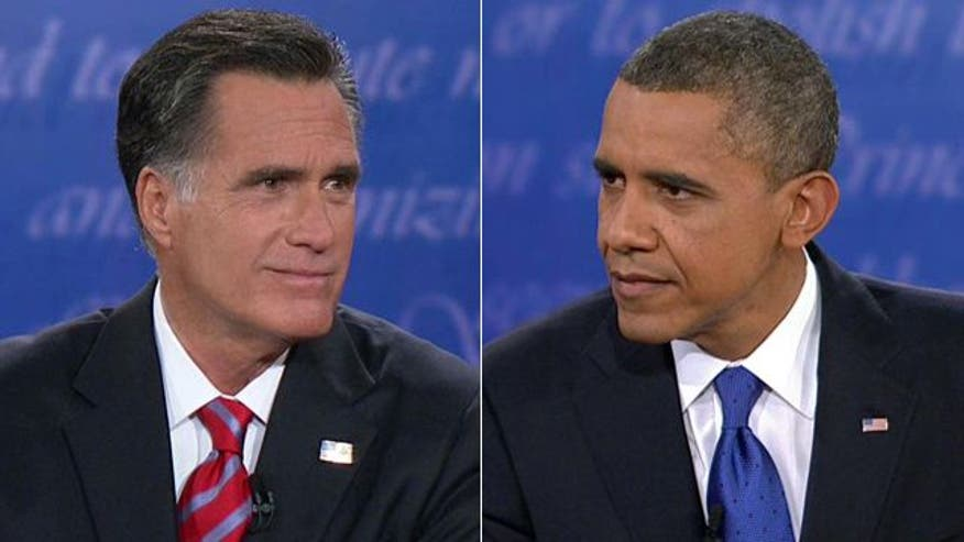 Part 1 of the third presidential debate